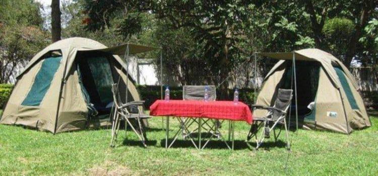Tarangire NP Campsite